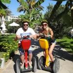 Paphos Segway Tour at paphos coastline