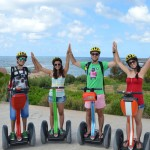 Segway smiles at Paphos Coastal Path