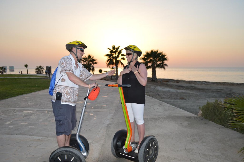 Paphos weddings are famous - Our Segway weddings even more