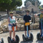 Paphos Segway Tour at paphos st paul pillar